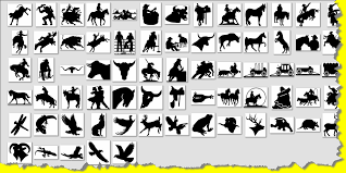 Silhouette Patterns Magnificent Free Patterns For Metal Working Western Wildlife Southwest