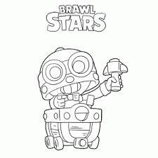 Trying to get a werewolf leon in brawl stars. Brawl Stars Kleurplaat Printen Leuk Voor Kids