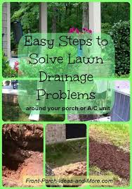 diy drainage projects