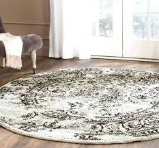safavieh round area rug distressed 4 round area rug vintage indoor silver black carpet safavieh area