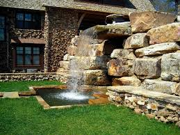 Small Picture Images About Garden Waterfalls Gardens High With Waterfall Design