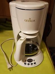 Customers have reviewed the company positively for providing wide selections of flavors and fast shipping. Gevalia C 60a 12 Cup Coffee Maker Black 5 Paper Filters Euc 19 99 Picclick