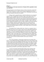 montana everything english  montana essay resp doc