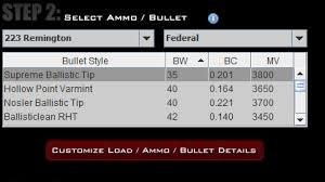 Bullet Drop Compensation With Nikon Spot On Technology