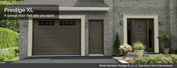 garage doors designs. Perfect Doors Garaga Garage Doors  Model Standard Prestige XL 9u0027 X 7u0027 Dark On Designs D