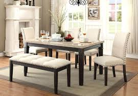 dining table with bench elements dining table bench and two side chairs dining table bench design