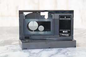 motorized vhs c cassette adapter