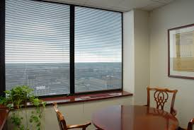 office with no windows. Typical Curtain Wall Office After Thermolite Installed. With No Windows
