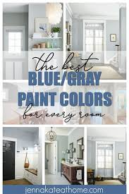 the best blue gray paint colors for every room in your home