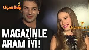 Serenay Sarıkaya: Magazinle Aram İyi! | Uçankuş TV Magazin - YouTube