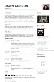 Freelance Writer Resume samples