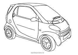 Car Coloring Page Pippis Pages Coloring Pages