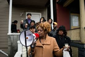 in chicago mental health workers are armed and dangerous essay click to enlarge evelyn glover jennings holds a prayer her family and west side officials on