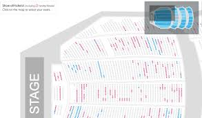 Design Critique Ticketmaster Telecharge Seating Charts