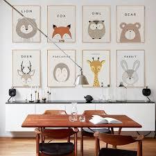 <b>Cartoon Animals Canvas</b> Wall Art – Art + Interior