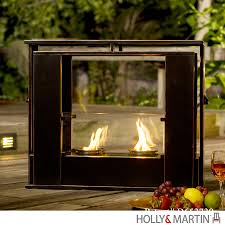 holly martin walton portable indoor outdoor gel fireplace