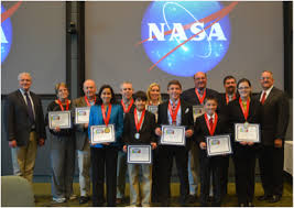 scholars at lester middle school make history through science nasa group shot