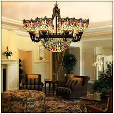 stained glass chandelier shades home design ideas stained glass chandelier shades stained glass chandelier
