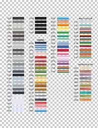 Embroidery Chart Embroidery Thread Yarn Rayon Pattern Cellular Color Chart