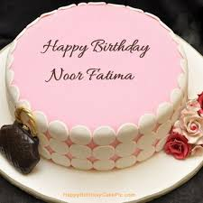 Birthday Cake With Name Noor The Cake Boutique