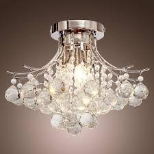 Chandeliers Amazoncom Lighting  Ceiling Fans Ceiling Lights - Dining room crystal chandeliers