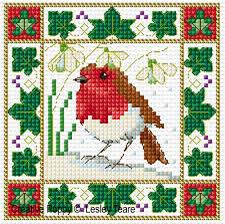 Christmas Cross Stitch Charts Christmas Patterns Designed By Lesley Teare Designs