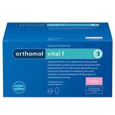 <b>Ортомол Витал Ф</b> таблетки и капсулы 30 шт купить по цене 8 124 ...