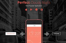 Sevenapp Free Beautiful Mobile App Landing Page