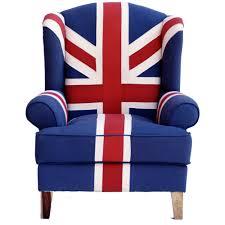 union jack chair wallace sacks union jack wingback armchair