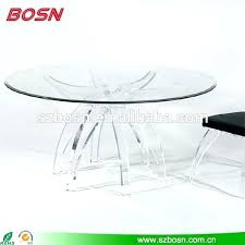 clear acrylic dining table round perspex and chairs uk