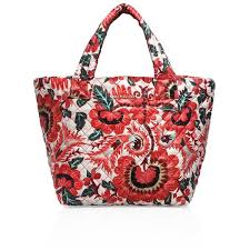 MZ Wallace Metro Small Tote ($195) ❤ liked on Polyvore featuring ... & Quilted floral shell updates this streamlined tote Adamdwight.com