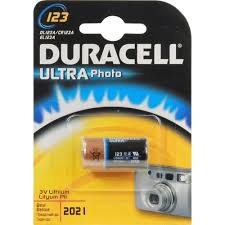 <b>Батарейка CR123A Duracell</b> ULTRA DL123A 1 шт. — купить, цена ...