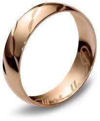 Эстет Обручальное <b>кольцо из красного золота</b> 01О710173 ...