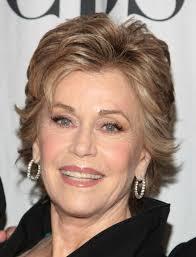 Medium Length Curly Hairstyles Jane Fonda Older Women Okavnb