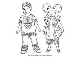 Small Picture Coloring Pages Of Africa African Coloring Pages With Africa