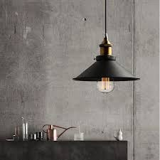 vintage industrial lighting copper lamp holder retro pendant lamp american aisle lights for home bar and cheap industrial lighting