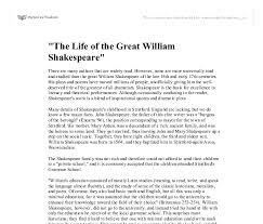 effective application essay tips for life of william shakespeare at that time england had a social class system that divided the elite and the