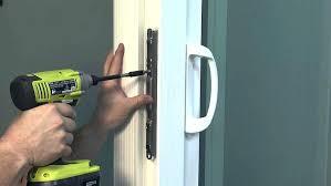 pocket door adjustment wardrobe sliding door not closing properly how to adjust a sliding glass door