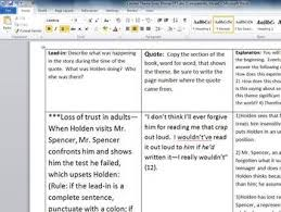 essay on the catcher in the rye catcher in the rye essay jack essaysforstudent com