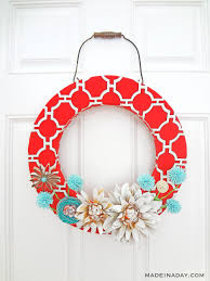 i will show you just how to do that in this tutorial for my red canvas spring wreath for more diy wreaths see my wreath plants page