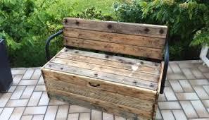 Reclaimed Garden Pallet Bench