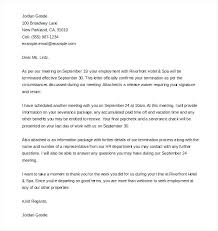 Termination Letter For Absconding Employee Staff Dismissal