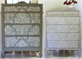 stenciling furniture ideas. antoinette damask wall stencil stenciling furniture ideas r