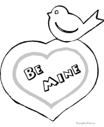 Small Picture Valentine Hearts Coloring Pages