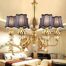 chandeliers with fabric shades vintage purple fabric shade antique brass chandelier for bedroom chandeliers with fabric