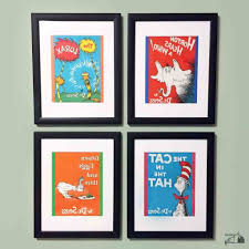 dr seuss canvas wall art intended for most popular stylist design dr seuss wall art together