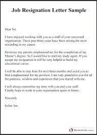 Letter Of Intent To Return To Work After Resignation Return To Work Notice Template Leaving Job Letter Writing A
