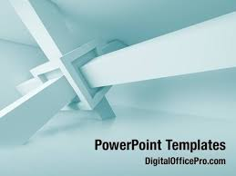 Futuristic Architecture Powerpoint Template Backgrounds