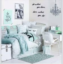 teenage girls bedroom mint green