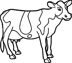 Coloring Pages Animal Farm New Farm Animal Coloring Pages Valid Cow